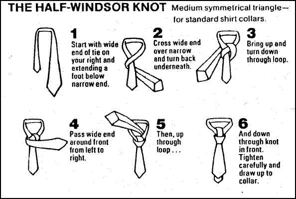 Adem Ayem How To Tie A Tie Windsor